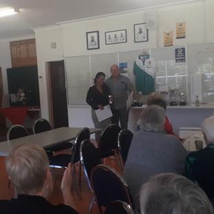 Taranaki Champion Lesly Te Awa