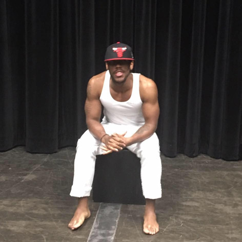 Breathe, a One Man show written and performed by Semaj Miller