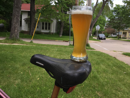 Bikes and Beer go Hand in Hand