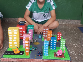 Projeto Maquete 2º ano. Prof Eliane