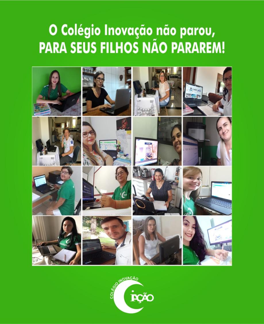 O Colégio Inovação de Guarantã do Norte, diante da Pandemia do Covid 19, que assola o país, vem escl