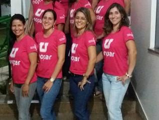 """Funcionários aderem a campanha """"Outubro Rosa"""""""