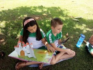 Momento leitura 1º Ano B e C