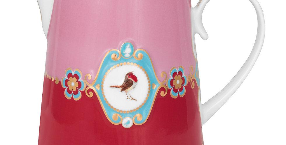 Jarra Medallion Rosa/Vermelho - Love Birds