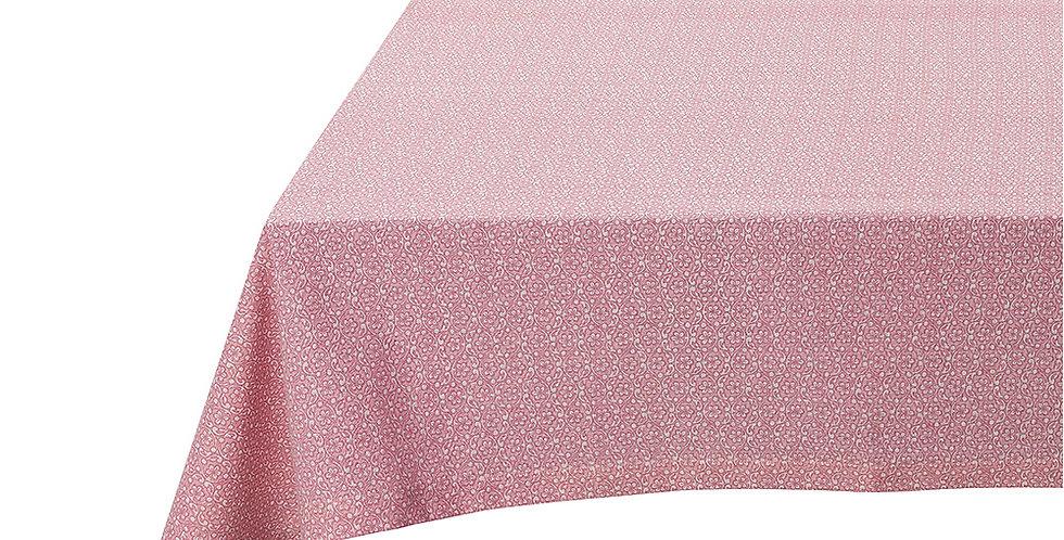 toalha de mesa rosa marca holandesa decoração