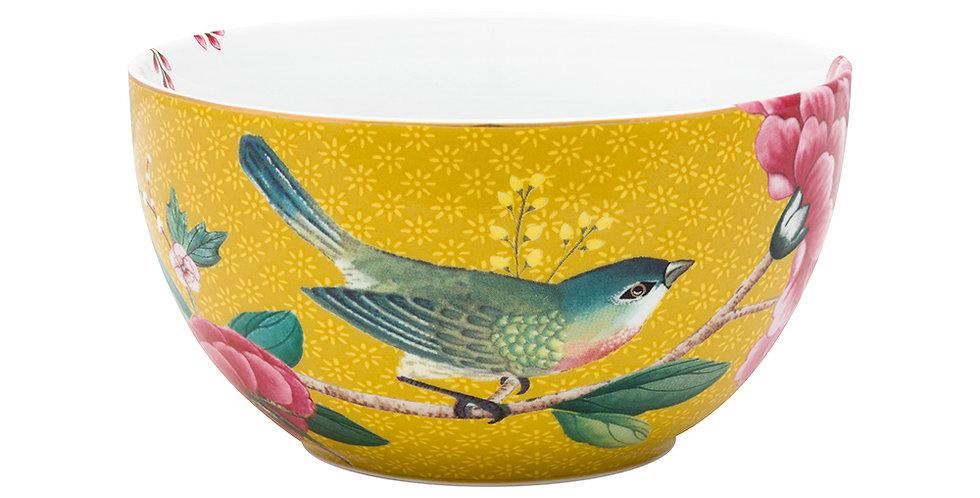 Tigela 12 Amarelo - Blushing Birds