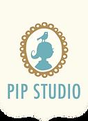 Logo Pip Studio 10 anos porcelanas e papelaria