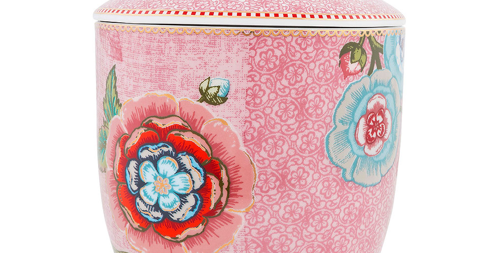 Pote Rosa Spring to Life Porcelana Holandesa