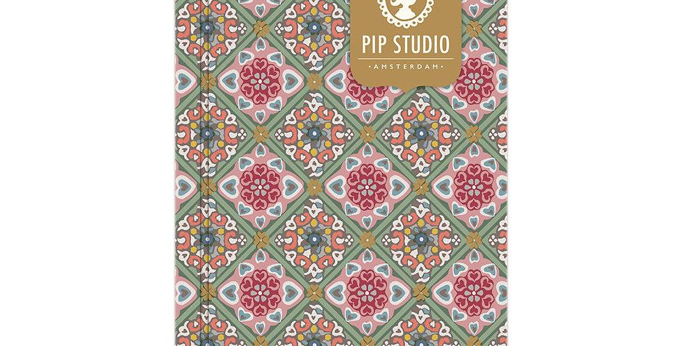 Caderno Decoração Ouro Papelaria Pip Studio