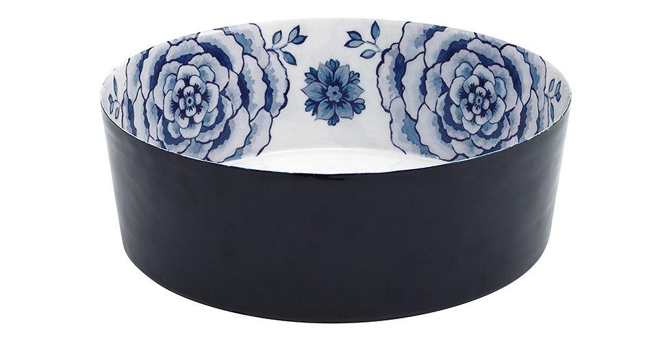 Tigela de Metal 26 Azul - Royal White