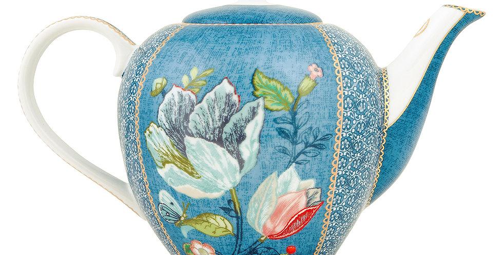 Bule Azul Spring to Life Porcelana Holandesa