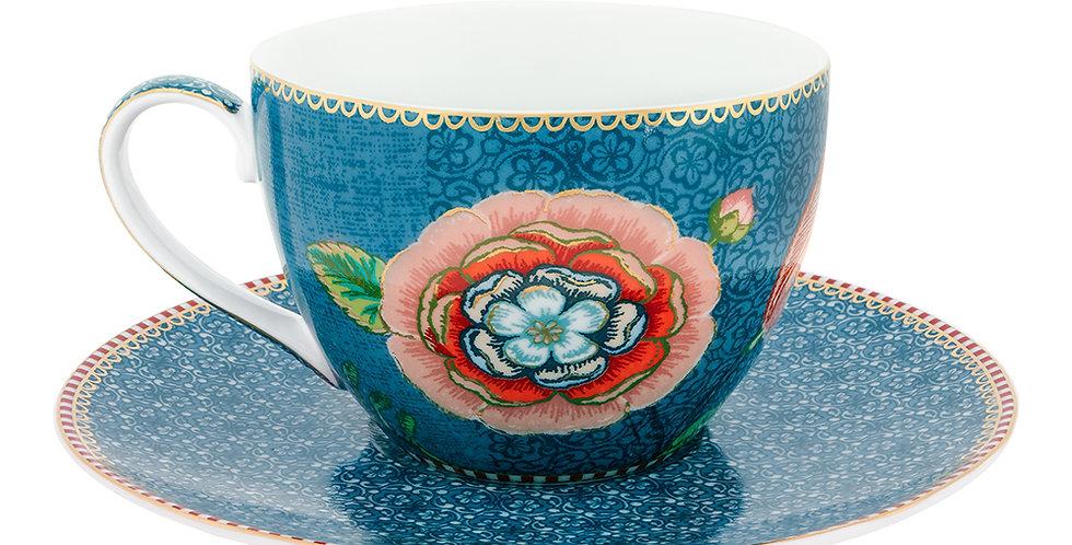 Xícara Chá Azul Spring to Life