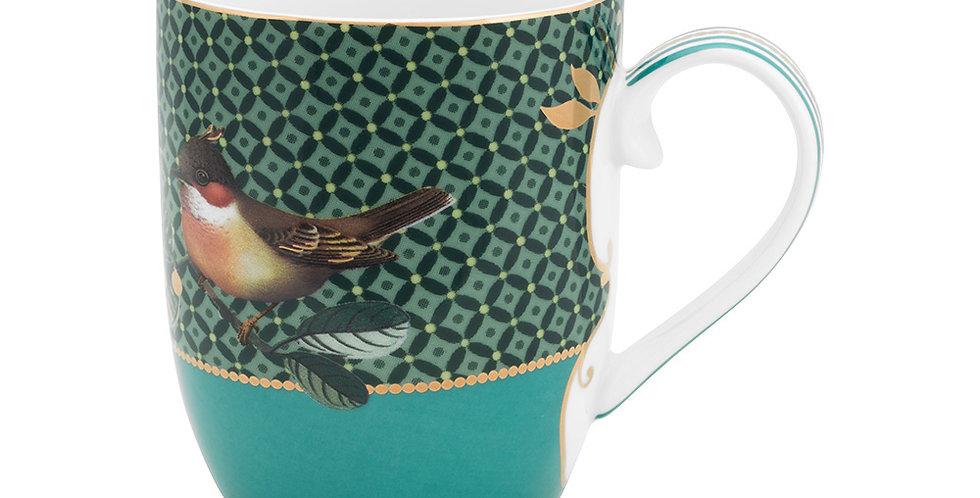 Caneca Pequena Bird Verde - Winter Wonderland
