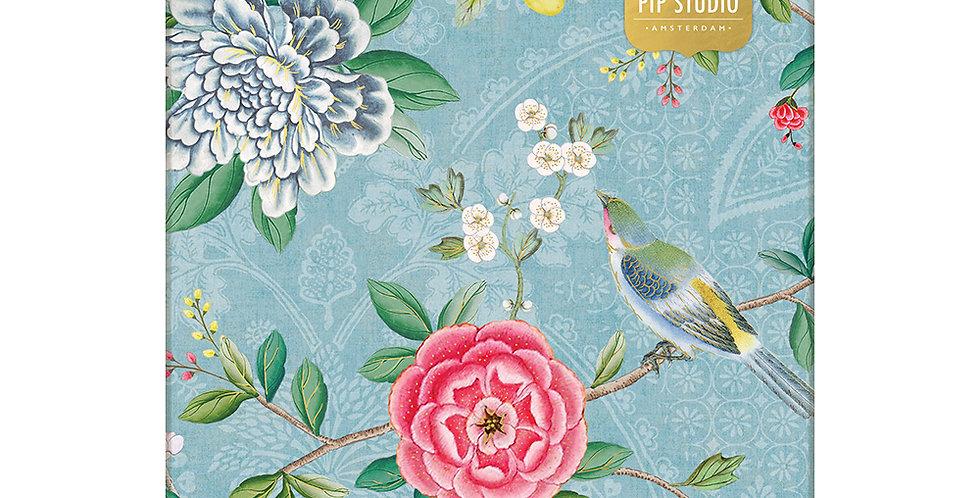 Caixa organizadora Pip studio decorada flores papelaria