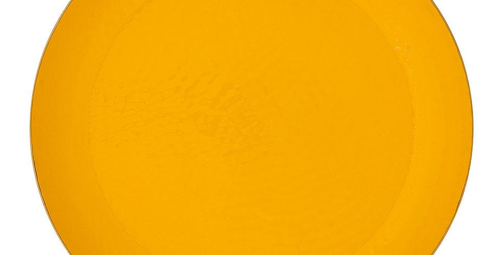 Bandeja Esmaltada Amarelo/Dourada Grande - Blushing Birds