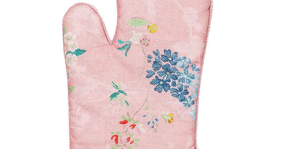 Luva de Forno Rosa Pip Studio Detalhes Flores