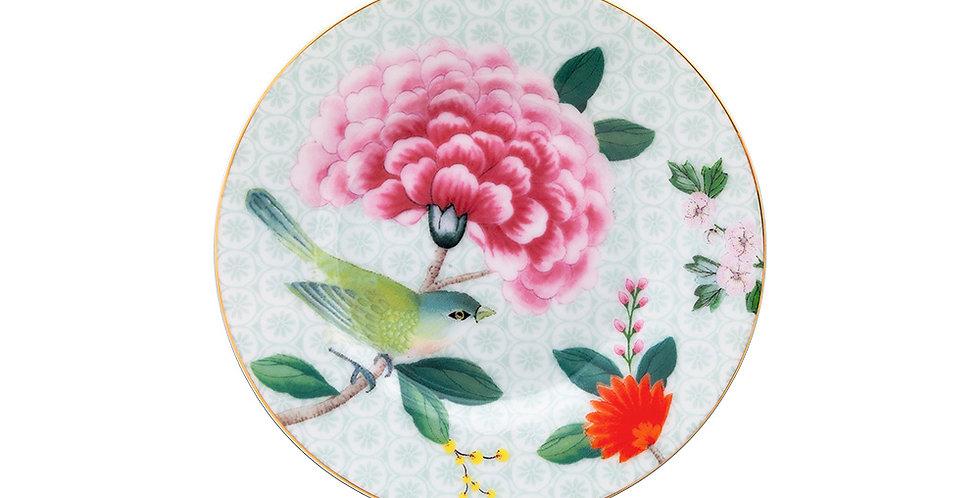 Prato Petit Four Branco - Blushing Birds