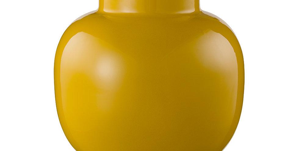 Vaso de Metal Round Amarelo - Blushing Birds