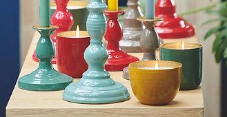 castical alta decoracao velas aroma inox elegante fina moderna pip studio