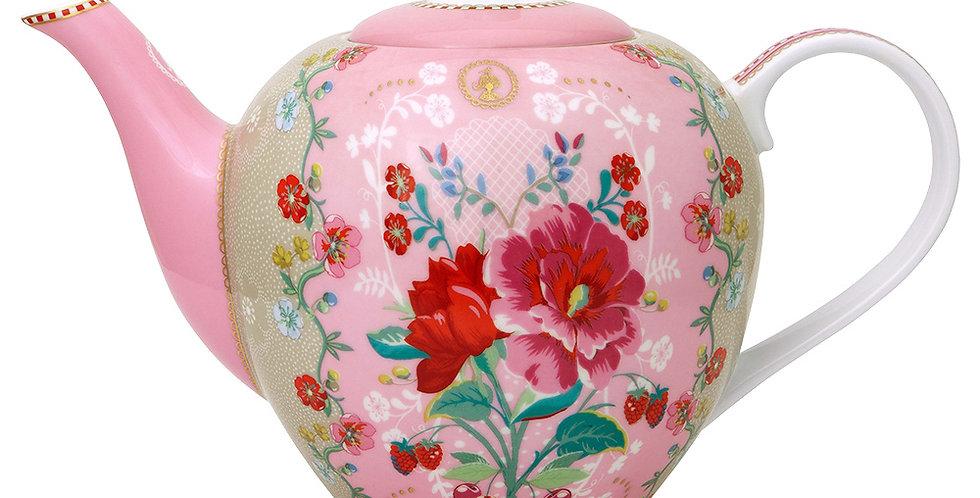 Bula Rose Floral Decoração Porcelana Pip Studio