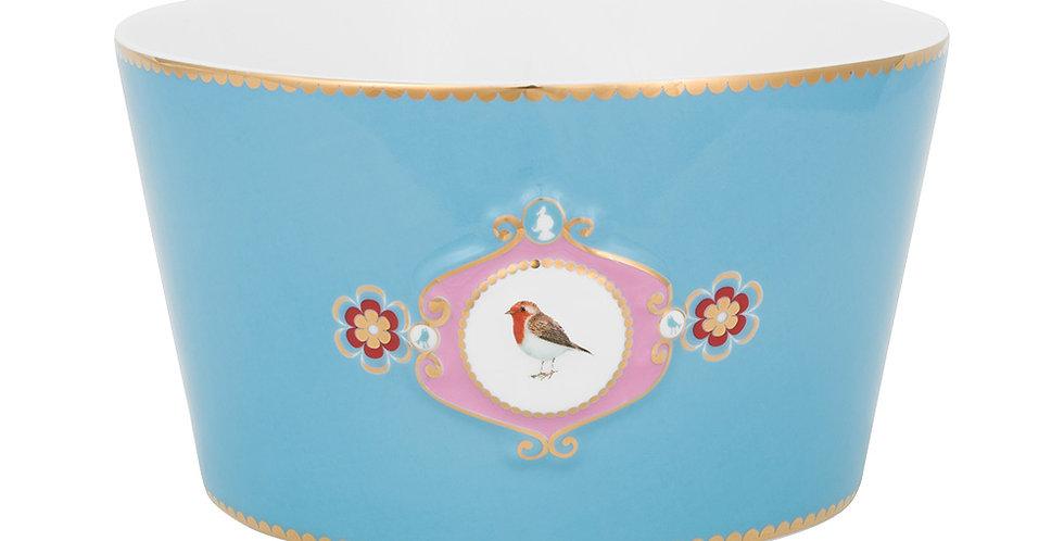 Tigela 15 Medallion Azul - Love Birds