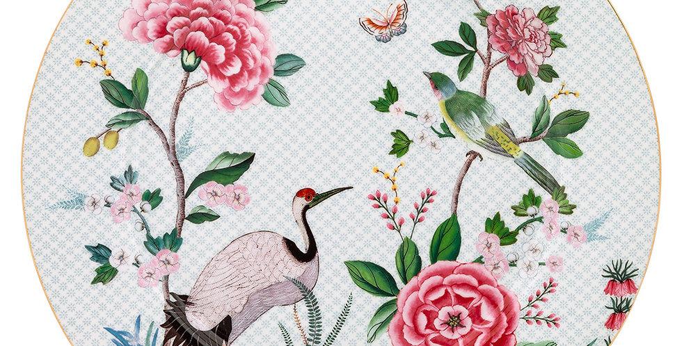 Prato Sousplat Branco - Blushing Birds