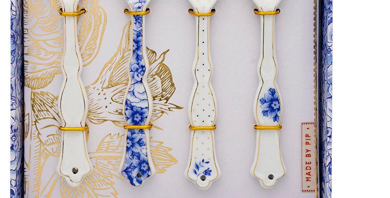 colheres royal white porcelana