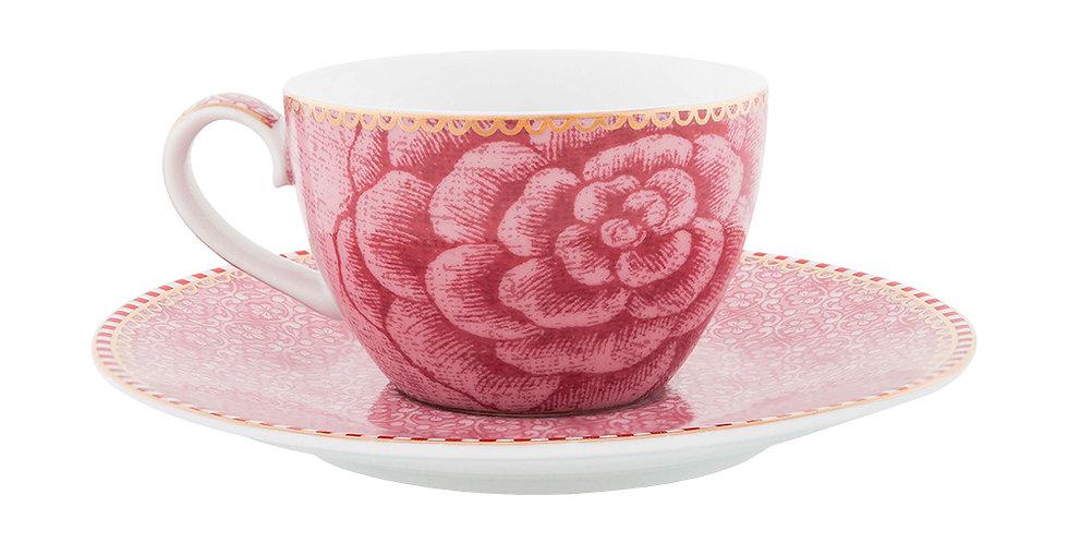 Xícara Cafézinho Rosa Spring to Life