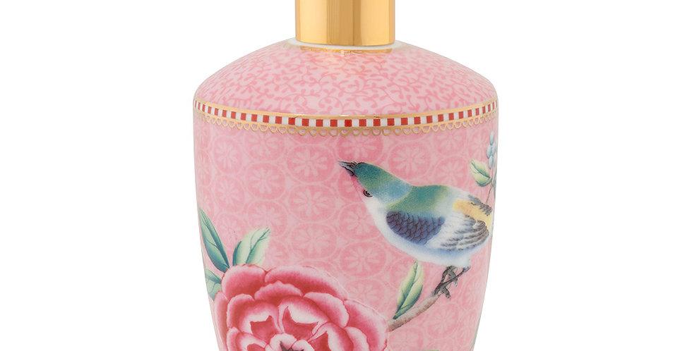 Saboneteira Liquida Rosa Porcelana Holandesa Pip Studio