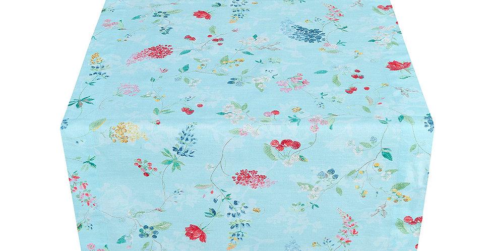Toalha trilho corredor com detalhes em flores coloridas pip studio
