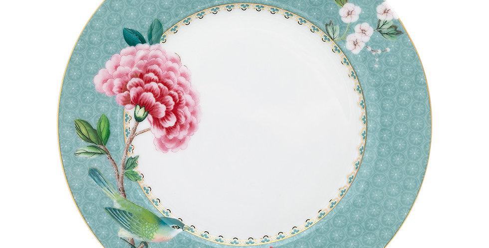 Prato de Sobremesa Azul - Blushing Birds
