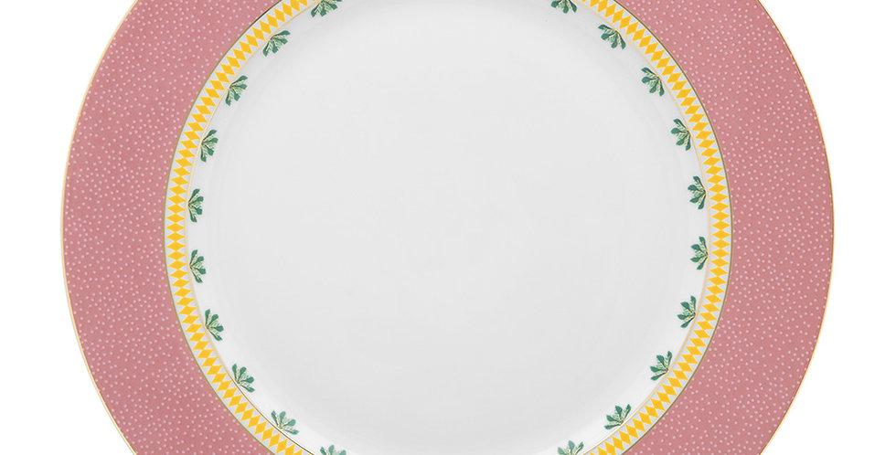 Prato de Jantar Rosa - La Majorelle