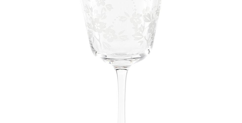 Cálice p/ Vinho Clear - Blushing Birds