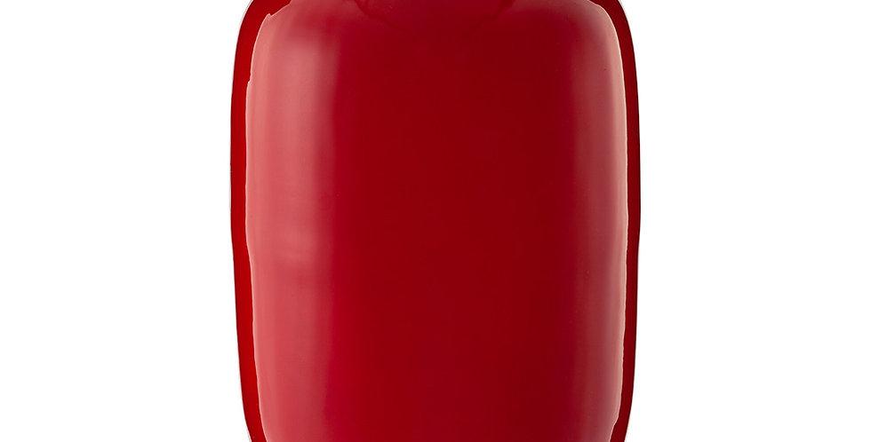 Vaso de Metal Oval Vermelho - Blushing Birds
