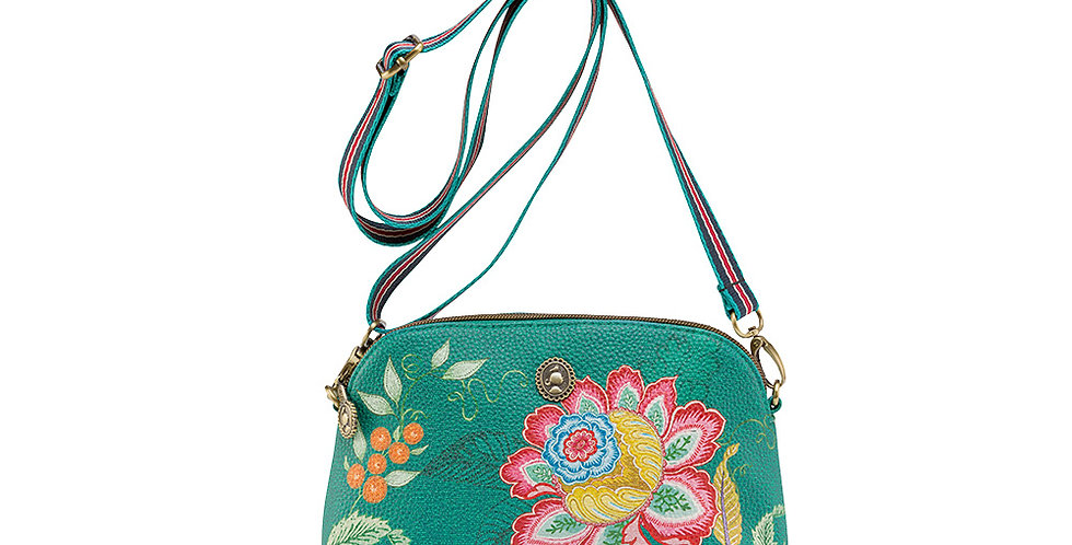 Bolsa Cross Body Jambo Flower Verde - Moon Delight