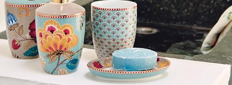 porcelana copo saboneteira dispenser algodao para banheiro pip studio