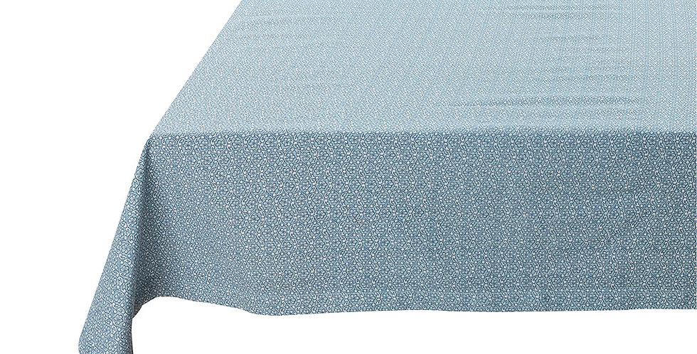 toalha de mesa life lacy azul spring to life decoração