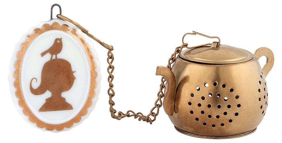 Tea infuser Pip studio 10 years Infusor de Chá bule