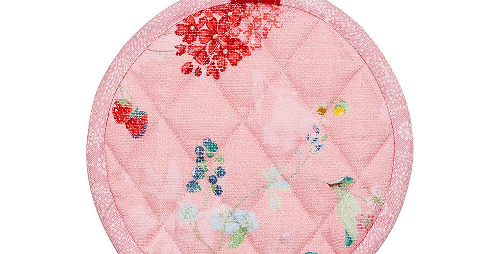 Pegador de Pratos Quentes Rosa Decoração Pip Studio