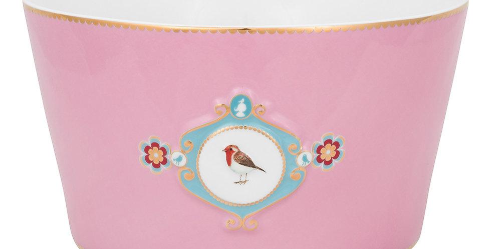 Tigela 20 Medallion Rosa - Love Birds