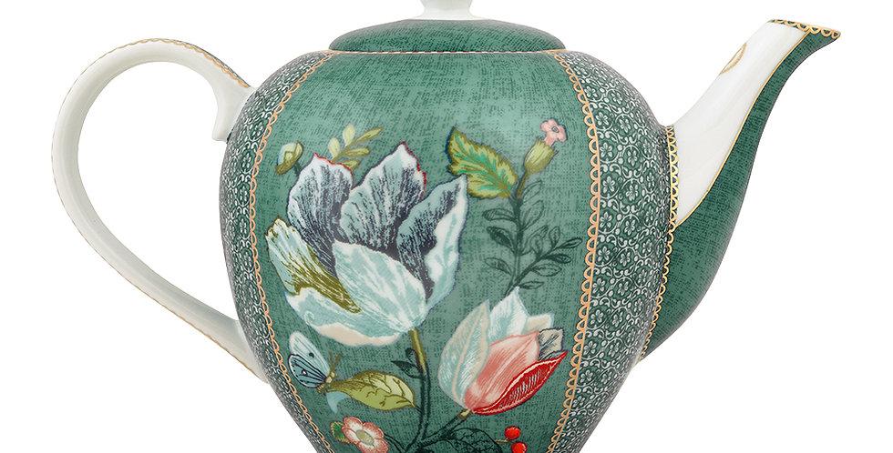 Bule Verde Spring to Life Porcelana Holandesa