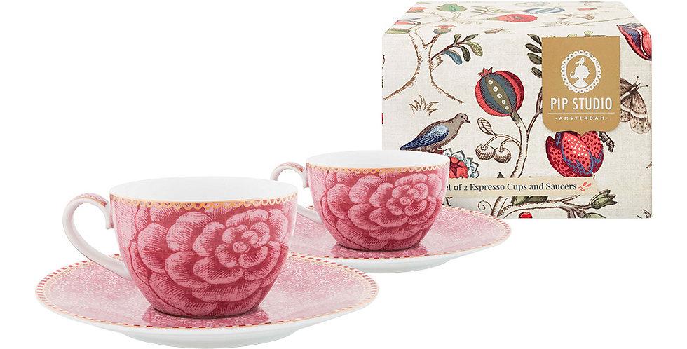Set Presente Xícara Cafézinho Porcelaha