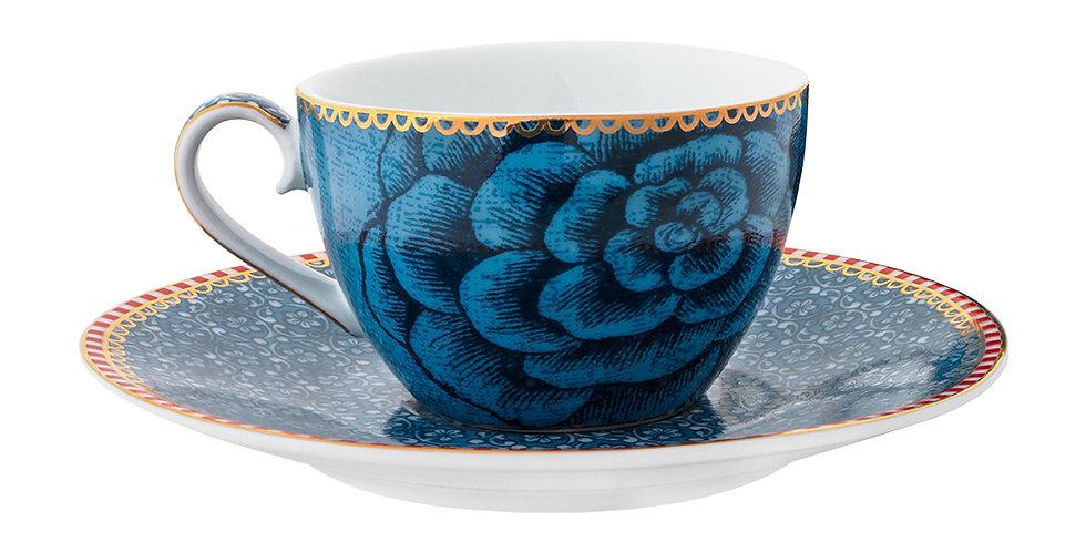 Xícara Cafézinho Azul Spring to Life