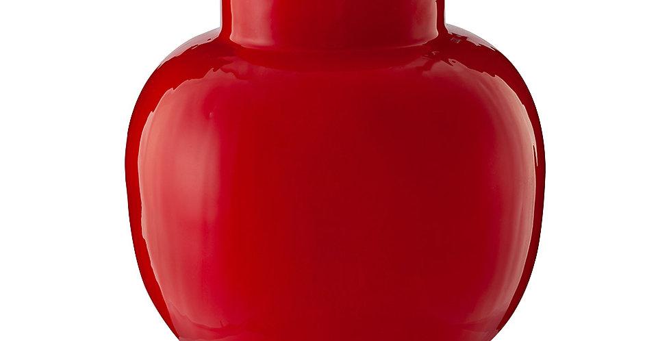 Vaso de Metal Round Vermelho - Blushing Birds