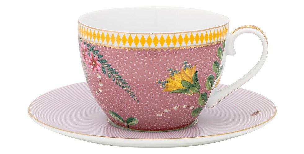 Xícara de Chá Rosa - La Majorelle