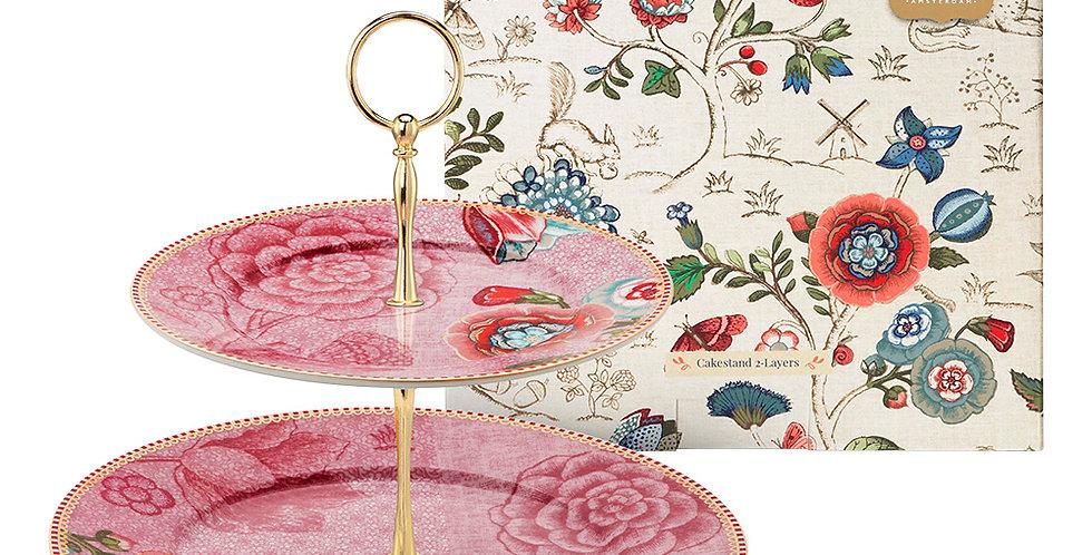 prato para doces rosa spring to life