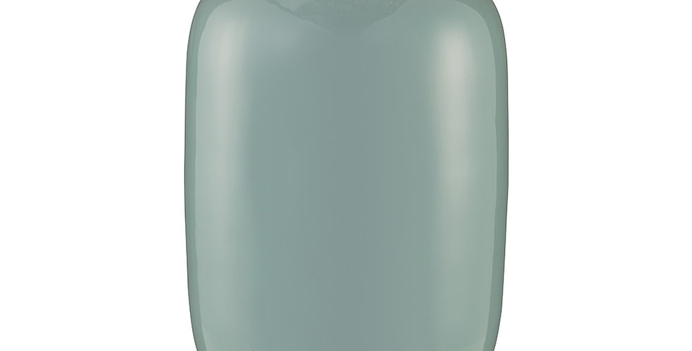 Vaso de Metal Oval Azul - Blushing Birds