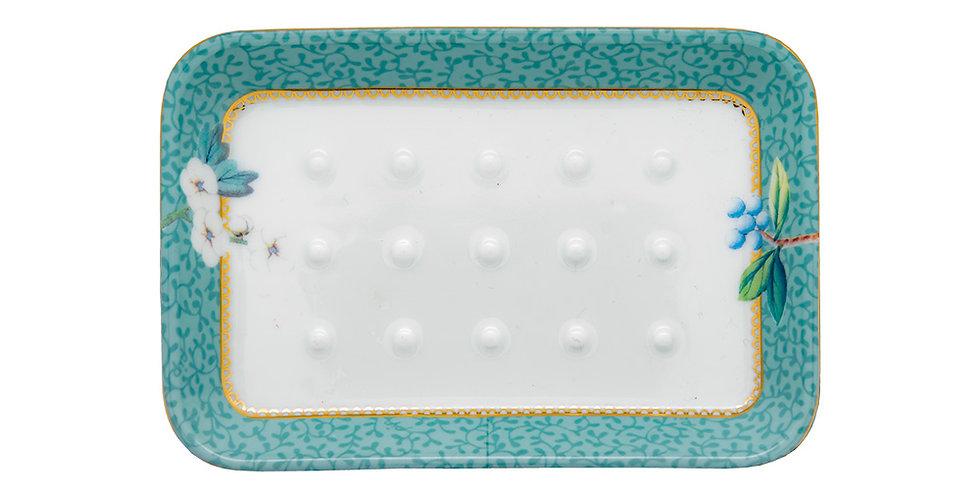 Saboneteira banheiro porcelana detalhes