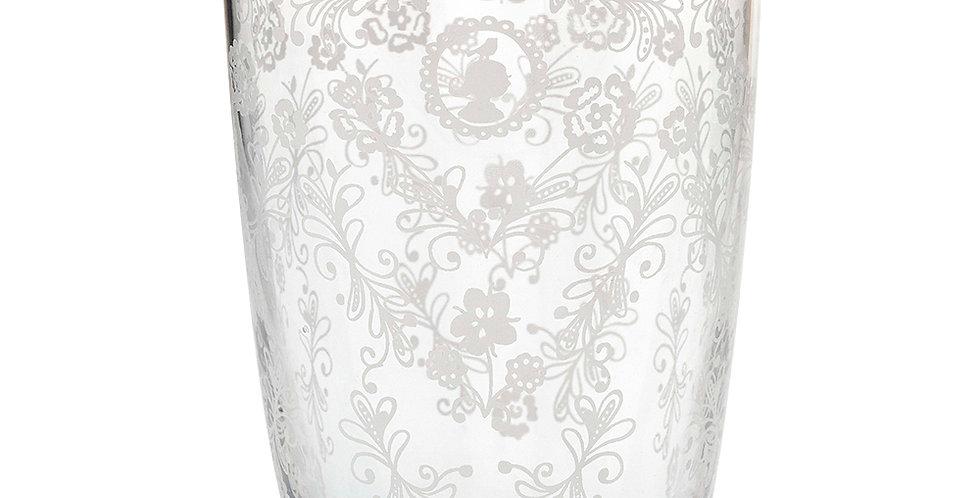 copo longdrink floral decorado