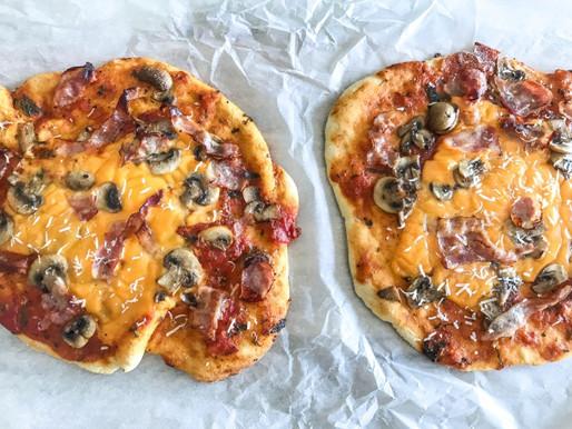 Σπιτική basic πίτσα